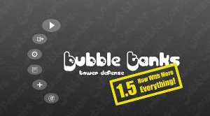 games Bubble Tanks Tower Defence TD free on line game Hero Interactive upgrade levels combined mega enemies flying ghosts fast path difficult statistics displayed screen Arenas BTA addictive screen pause navigation wave complain spend mute