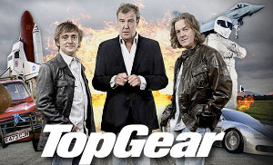 series BBC series review cars english british humor Top Gear popularity Dr Who Jeremy Clarkson Richard Hammond James May presenting cars future chemistry scripts content Timeline Industry angle